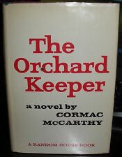 Cormac McCarthy The Orchard Keeper 1965 HC DJ 1st edition first printing