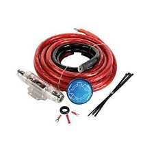 NEW! MTX StreetWires ZN3K-00 1/0 AWG Zero Noise 3 (ZN3) Series 400W Red Amp Kit
