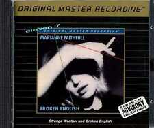 Marianne Faithfull Broken English & strange weather MFSL udcd 640 en MINT