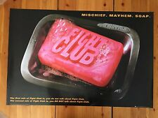 THE FIGHT CLUB, RARE AUTHENTIC 2007 POSTER