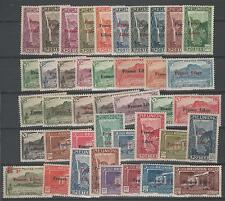 Reunion, françaises libres question de 41 timbres. 1943