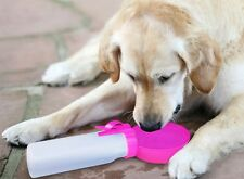 Water Rover Portable Pet Dog Drinking Bowl - New NEON Colors !!