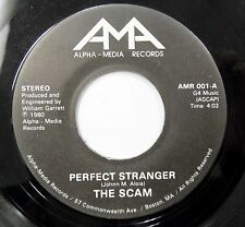 THE SCAM 45 Perfect Stranger / Don't Quit ALPHA MEDIA #413