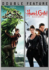 JACK THE GIANT SLAYER/HANSEL AND GRETEL WITCH HUNTERS (DVD, 2015) NEW
