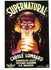 (P016) Supernatural - Carte postale de Affiche De Film