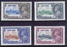 HONG KONG #147-150 MNH 1935 KING GEORGE V  SILVER JUBILEE,CV$200.00 GQ55