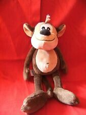 "Marks And Spencer M&S Monkey Plush Soft Toy Teddy 10"" tall VGC"