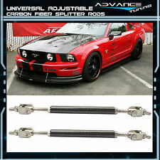 Mustang Carbon Fiber Splitter Rod Strut Support Stabalizer Adjustable 5.5-8