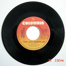 ONE 1975'S 45 R.P.M. RECORD, PENNY McLEAN, THE LADY BUMPS ON + LADY BUMP