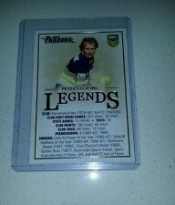 2015 ESP NRL TRADERS PARRAMATTA EELS PETER STERLING LEGENDS CASE CARD CC2