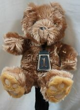 400 cc Golf Club Animal Wood Long Head Cover, TEDDY BEAR, Unique  & Best Gift
