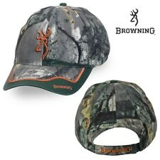 Browning Buckmark Eastfork Mossy Oak Tree Stand Camo Hunting Hat / Cap - NEW!