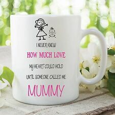 Mummy Mum Mug Gift Love Heart Hold Children's Cup Mother's Day Gift WSDMUG238