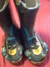 WESTERN CHIEF BATMAN RAIN BOOTS NWOB SIZE TODDLER 5  AWESOME!!