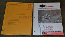 1962 Advertising Special Equipment Price List Willys Covington Mowers Cutter N