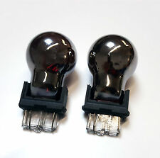 P27/7W 180 3157 W2.5x16q SILVER CHROME MIRROR RED Stop/Tail Car Light Bulbs