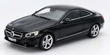 Norev 2014 Mercedes Benz S Class Coupe C217 Black in 1/18 Scale New! In Stock!
