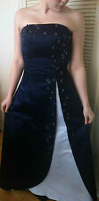 Jasz Couture Prom/Evening/Pageant/Homecoming Dress Navy Blue Size 8