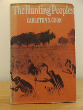 1974 THE HUNTING PEOPLES Carleton S. Coon MAPS & DRAWINGS Anthropology