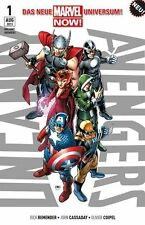 Uncanny avengers #1 tpb allemand (us 1,2,3,4,5) Marvel Now Avengers vs. x-Men
