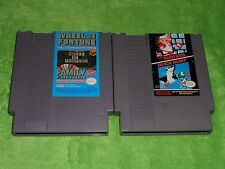 Mario Bros / Duck Hunt & Wheel of Fortune Family Edition Lot - Nintendo NES