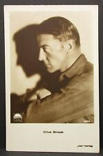 Clive Brook-Movie photo Postcard-ak-foto tarjeta autógrafo (Lot g-5937