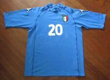 maglia TOTTI ROMA ITALIA ITALY KAPPA shirt maillot trikot jersey EURO 2000