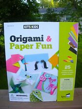 Origami Paper Fun Kits For Kids -25 Projects-Easy To Make Designs