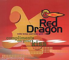 RED DRAGON with BRIAN & TONY GOLD - COMPLIMENTS ON YOUR KISS (4 track CD single)