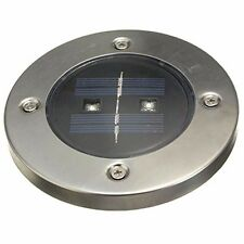 5 x Weatherproof Solar Power Ground Light Floor Buried LED Outdoor Landscape