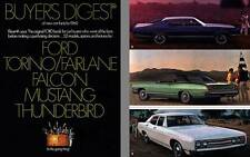 Ford 1969 - Buyer's Digest of New Car Facts for 1969