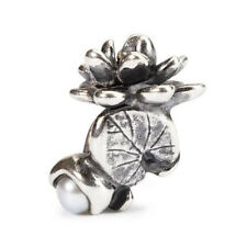 Trollbeads original authentic NINFEA DI LUGLIO -  WATER LILIES JULY  51744