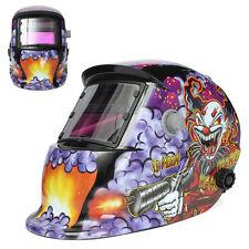 Clown Submachine  Gun Solar Welder Mask Electrode Welding Auto Darkening Helmet