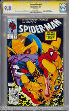 SPIDER-MAN #17 CGC 9.8 WHITE SS STAN LEE HIGHEST GRADED CGC #1197756013