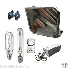 600W HPS MH Grow Light Lamps Magnetic Ballast Diamond Reflector Hydroponic Kits