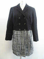Together Tweed Panel Coat SIZE 18 RRP £99 BRAND NEW BOX8241 F