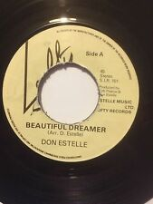 "DON ESTELLE 7"" - BEAUTIFUL DREAMER / ROSE-MARIE - LOFTY S.LR. 101"