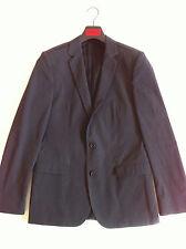 Blazer Hugo Boss Micro Dessin GRIS Veste Jacket Taille 48 / M