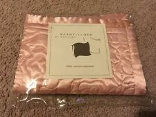 Ann Gish Ready To Bed Poly Rose Quilt Rosebud Boudoir NWT