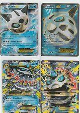 4x LOT Pokemon BREAKTHROUGH Full Art Ex Mega GLALIE 155/162 + 156/162 + 35/162