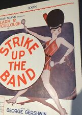 Pretty Sexy Pin Up Girl Strike Up The Band Sheet Music  Bangs Drum Wall Art