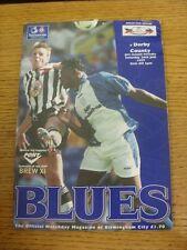 26/07/1997 Birmingham City V Derby County Friendly [] (acqua, cambiare SQUADRA danneggiato