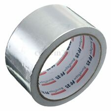 50mm x 17m Silver Roll Insulation Aluminium Foil Shield Tape Duct Sealing Tape