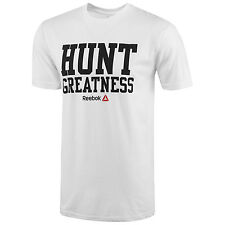 NW~Reebok JJ WATT HUNT GREATNESS Jersey-TEE Cross Running Gym fit Shirt~Men sz S