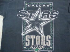 Vintage NHL Dallas Stars National Hockey League Classic Style Logo 7 T Shirt L