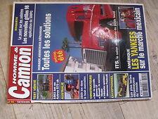 $$ Revue Homme & Camion N°8 Actros 570 ch  Australie  Renault Master  dépannage