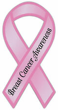 Ribbon Awareness Magnet - Breast Cancer (Pink) - Cars Trucks Refrigerator