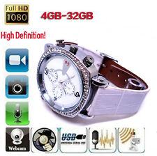 4 GB DVR Fashion Women Spy Watch HD 720P Hidden Video Camera Recorder Camcorder