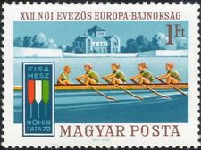 Hungary 1970 Women's European Rowing Championships/Boats/Sports 1v (n45133)
