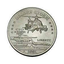 elf Hutt River Province 5 Dollars 1991 Desert Storm Apache Helicopter